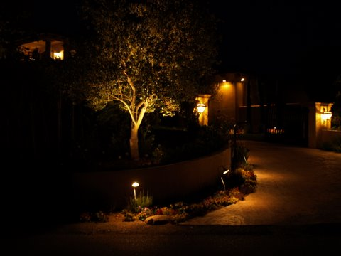Outdoor Lighting Oak Park Landscape Lighting